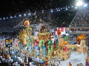 Rio carnaval parade
