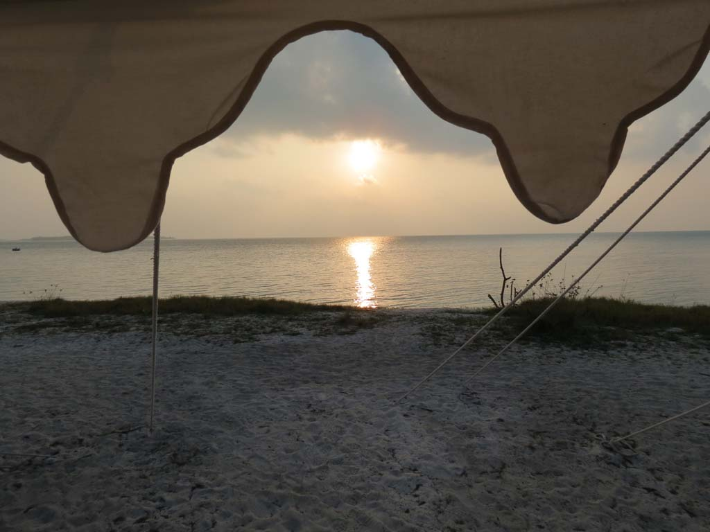 Sunrise view from your cottage