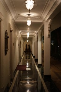 Taj lake Palace udaipur walkway to rooms