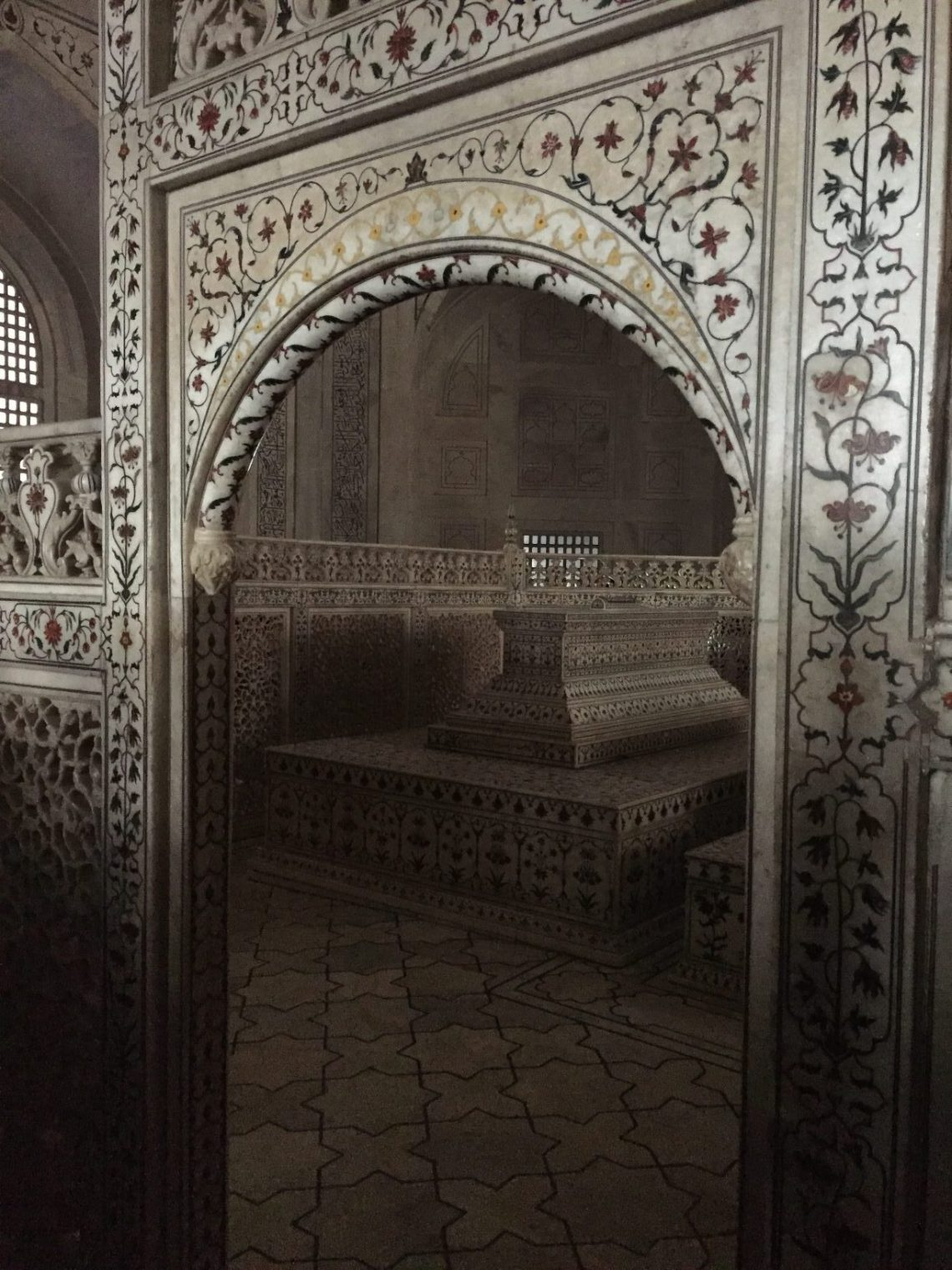The tomb of Shah Jahan