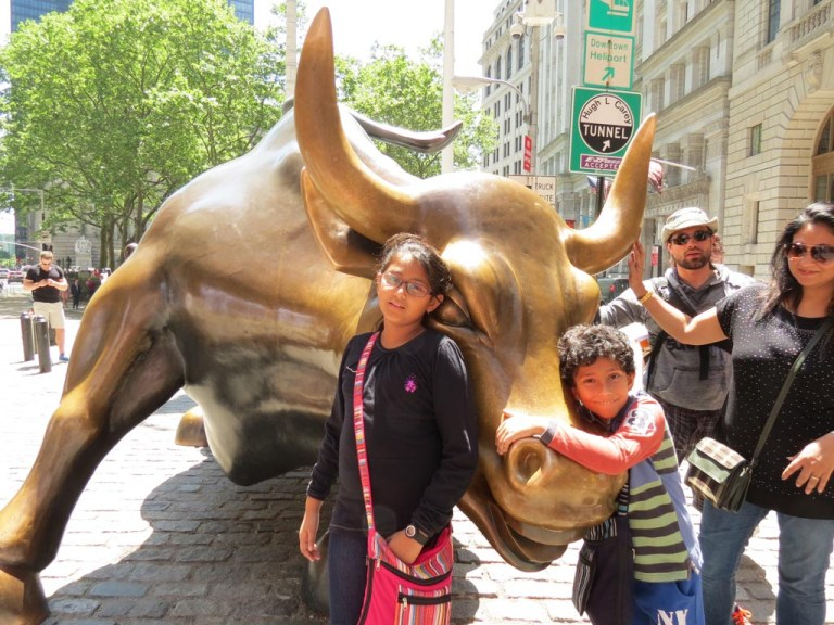 Wall street and kids