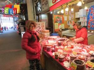 Kanazawa market
