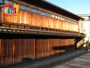 Kanazawa old town house