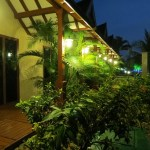 Kumarakom Zuri resort rooms at night