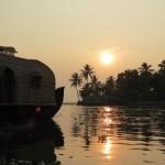 Kumarakom sunset