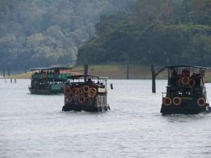 Periyar tourist boats