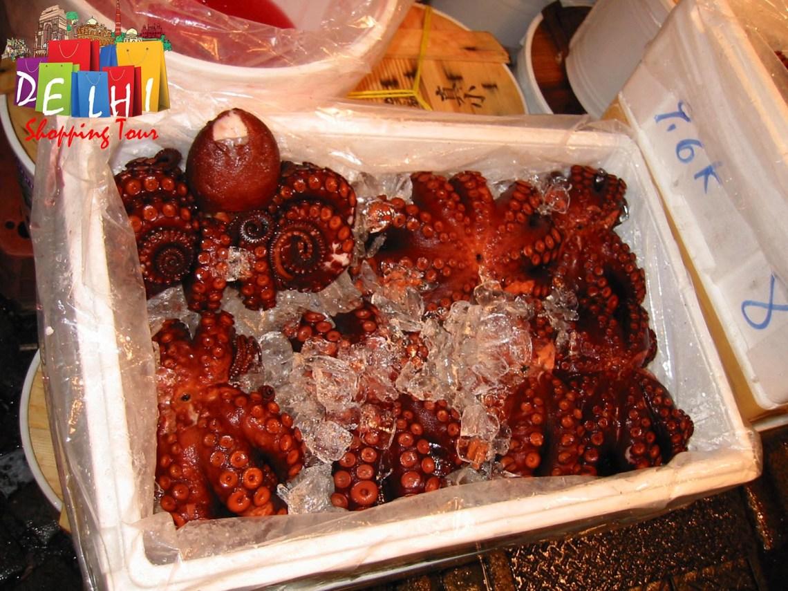 Tsukiji Octopus