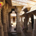 Jaisalmer fort pillars
