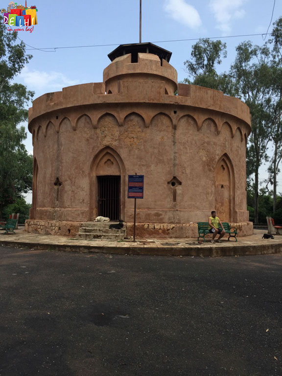 Flagstaff tower Delhi