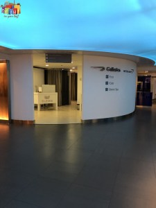Elemis Spa at BA first lounge at Heathrow Terminal 3