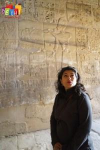 Ketaki at Karnak Temple