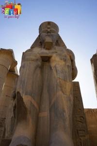 Luxor Temple - statue