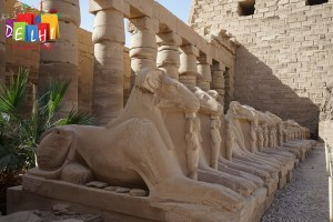 Sights at Karnak Temple