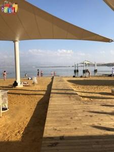 Ein Bokek Beach access