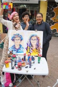 Portraits in Tel Aviv
