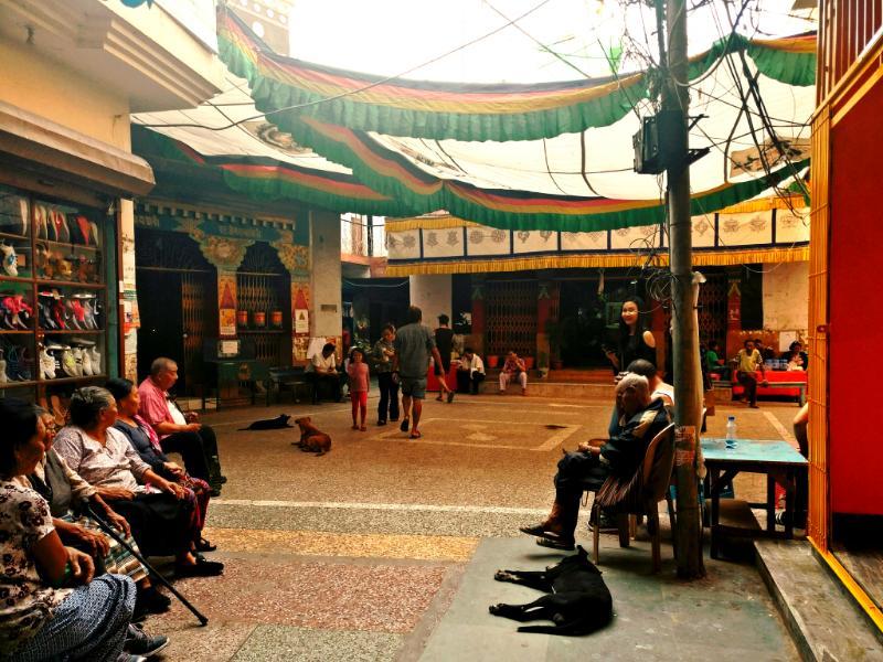Overlooked Tibetan market Majnu ka Tilla