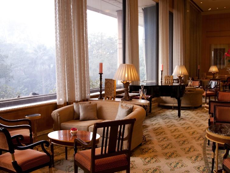 Emperor's lounge at Taj Palace Hotel Delhi
