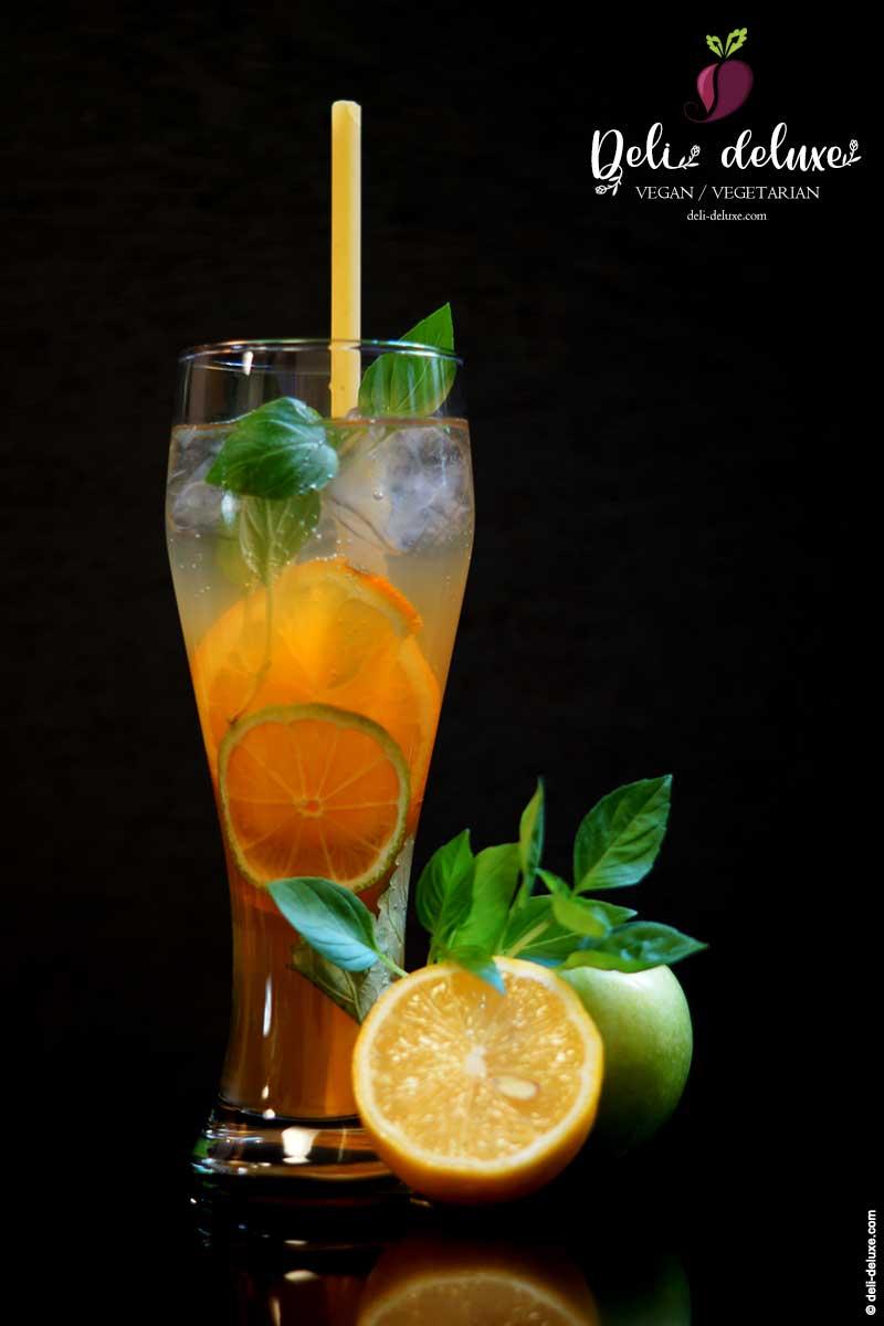 hausgemachte Apfel-Kräuter-Limonade 🥕🥕