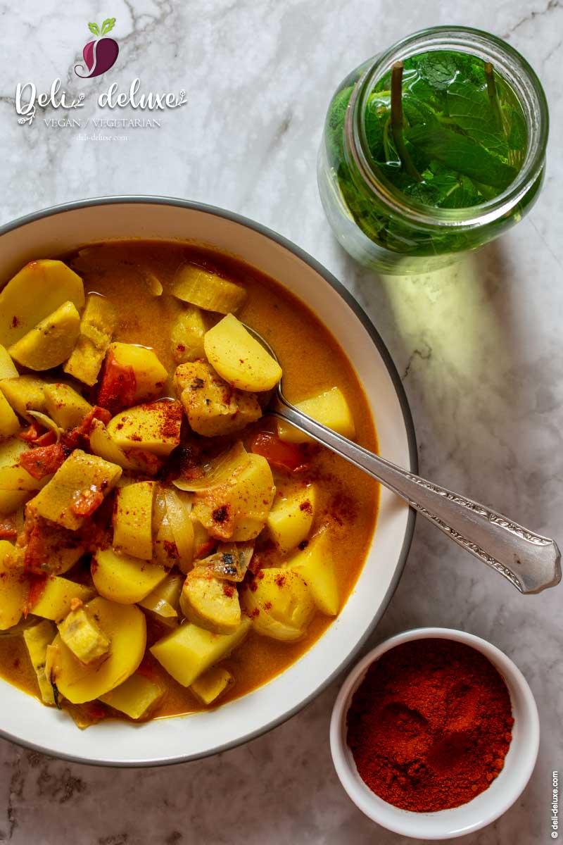 Afrikanischer Berbere-Kochbananen-Eintopf 🥕🥕