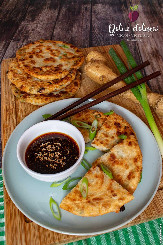 Chinesische Pancakes mit Lauchzwiebel 🥕🥕