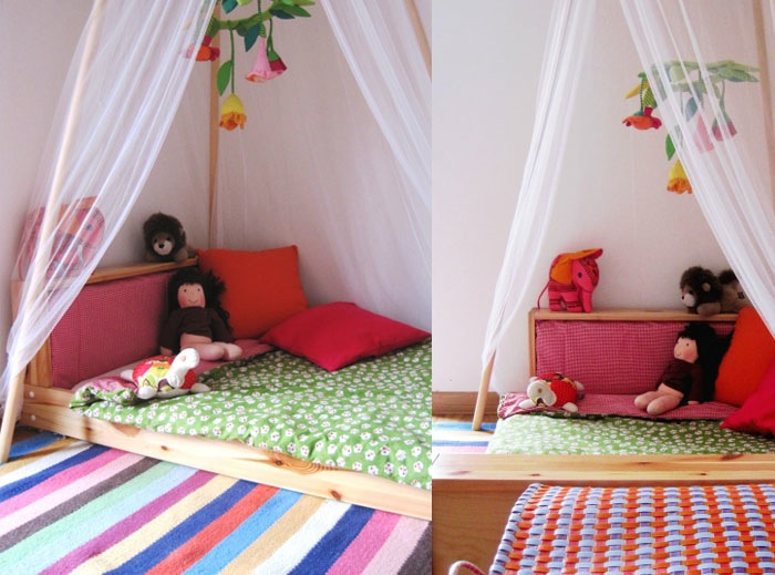 Montessori Floor beds for your toddler