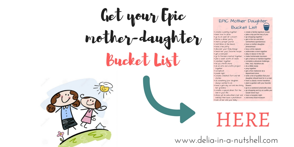 Delia in a nutshell | 10 Skills every mom should teach her