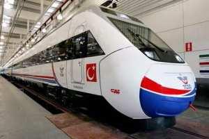 Turecká vysokorychlostní železniční souprava