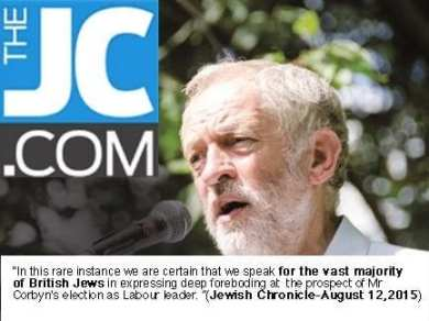 jewish chronicle anti- corbyn