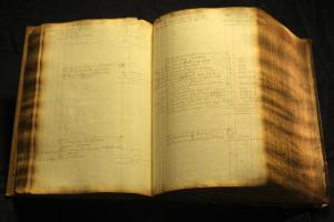 Účetní kniha bankéře