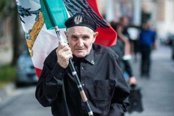 Un militante fascista