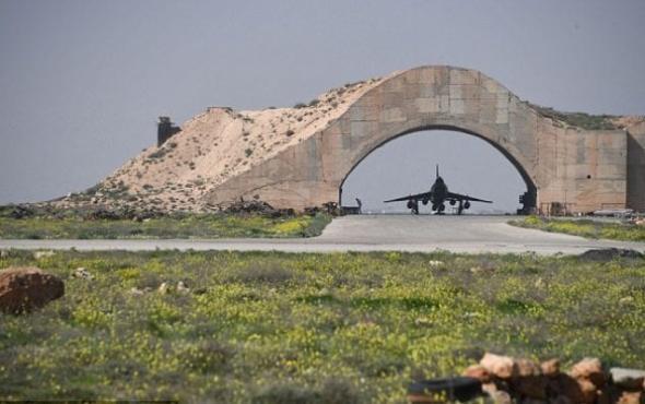 Sýrie, letecká základna Šajrát