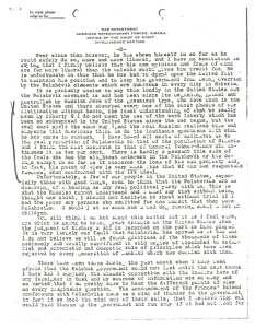 Zpráva kapitána Montgomery Schuylera z 1. října 1919, s. 2
