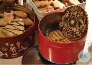 Latas de galletas a peso