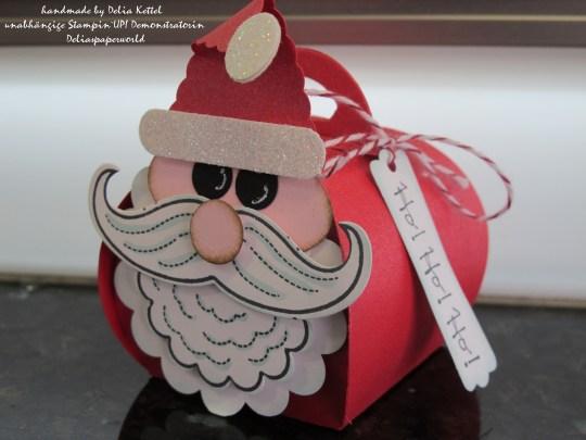 Santa Curvy Keepsake