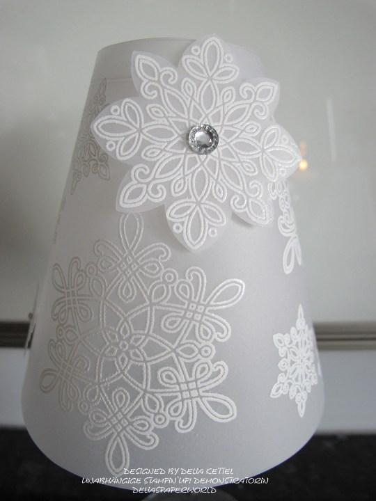 Lampenschirm für Weinglas e