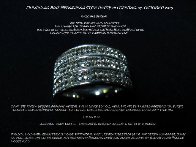 Einladung zur Style Party