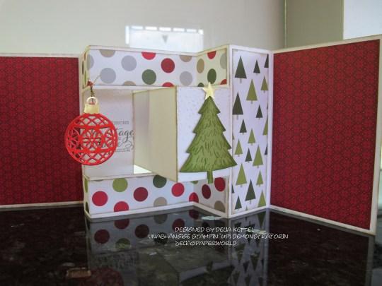 Mini Album Weihnachten Delia Kettel 5