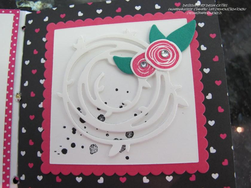 Mini-Album Pink mit Pep 13