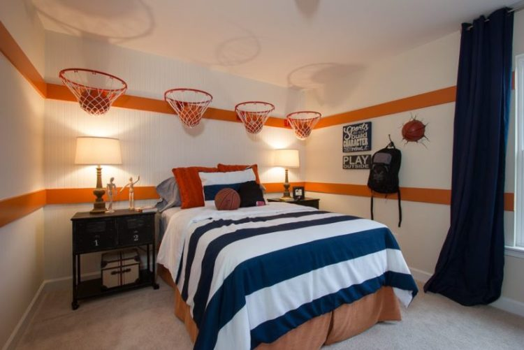 Sporty Bedroom