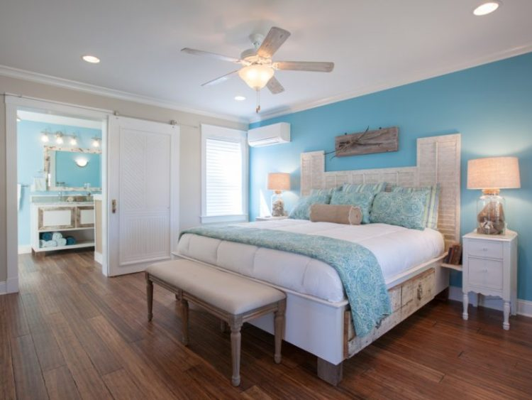 Master bedroom decoration