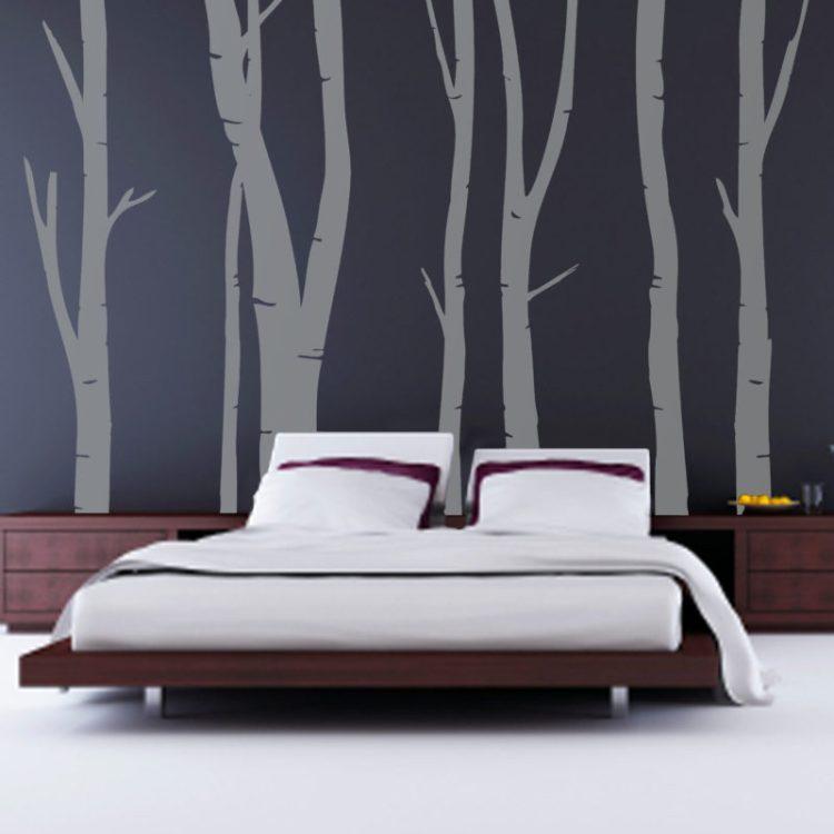 Wall art bedroom idea