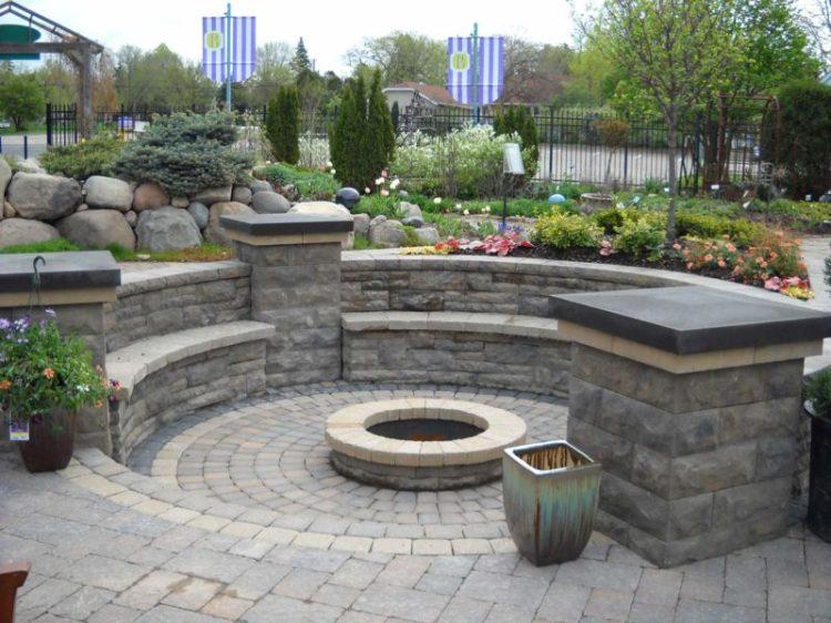 Round Fire Pit Design