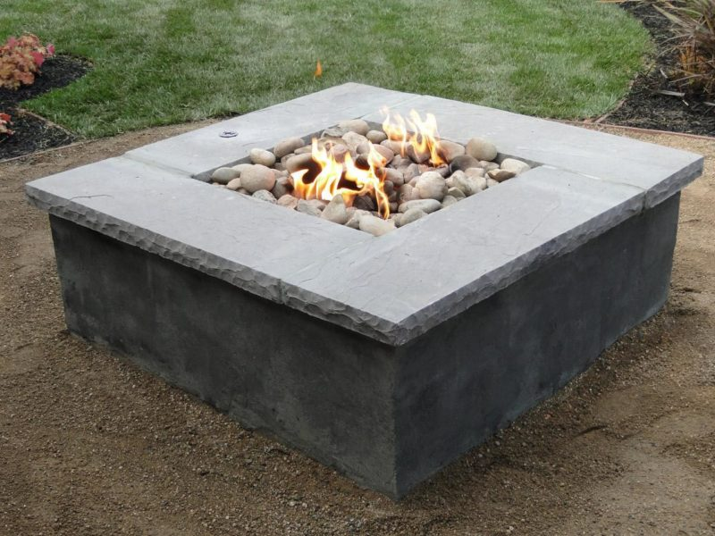 Cinder Block Fire Pits Types, Design Ideas, and Tips How ... on Cinder Block Fireplace Diy  id=47484
