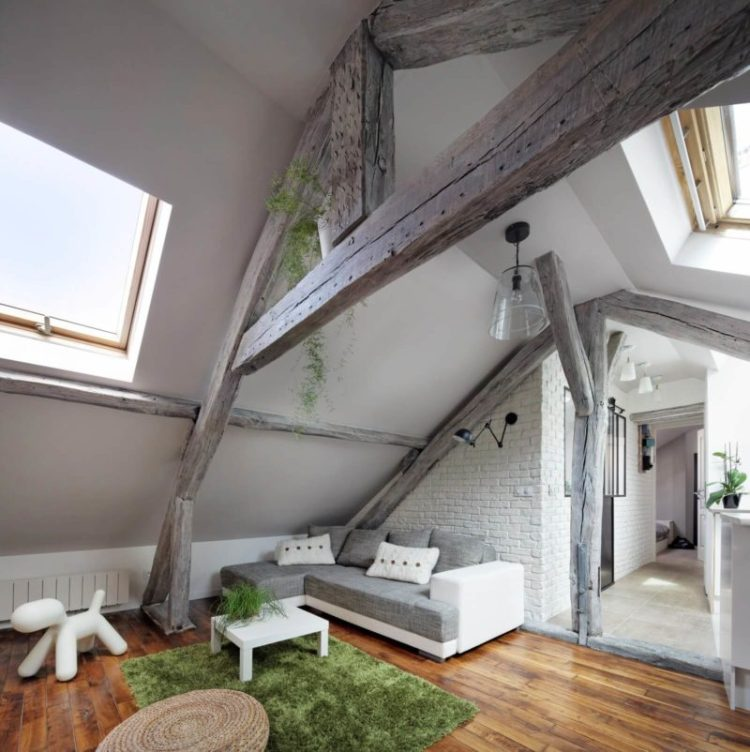 Mansard Apartment in Paris
