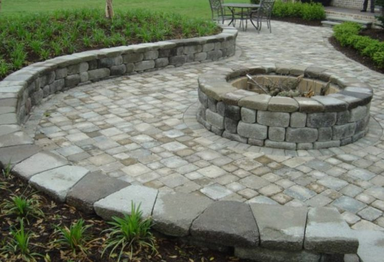 Cinder Block Fire Pits Types, Design Ideas, and Tips How ... on Paver Patio With Fire Pit Ideas id=87852