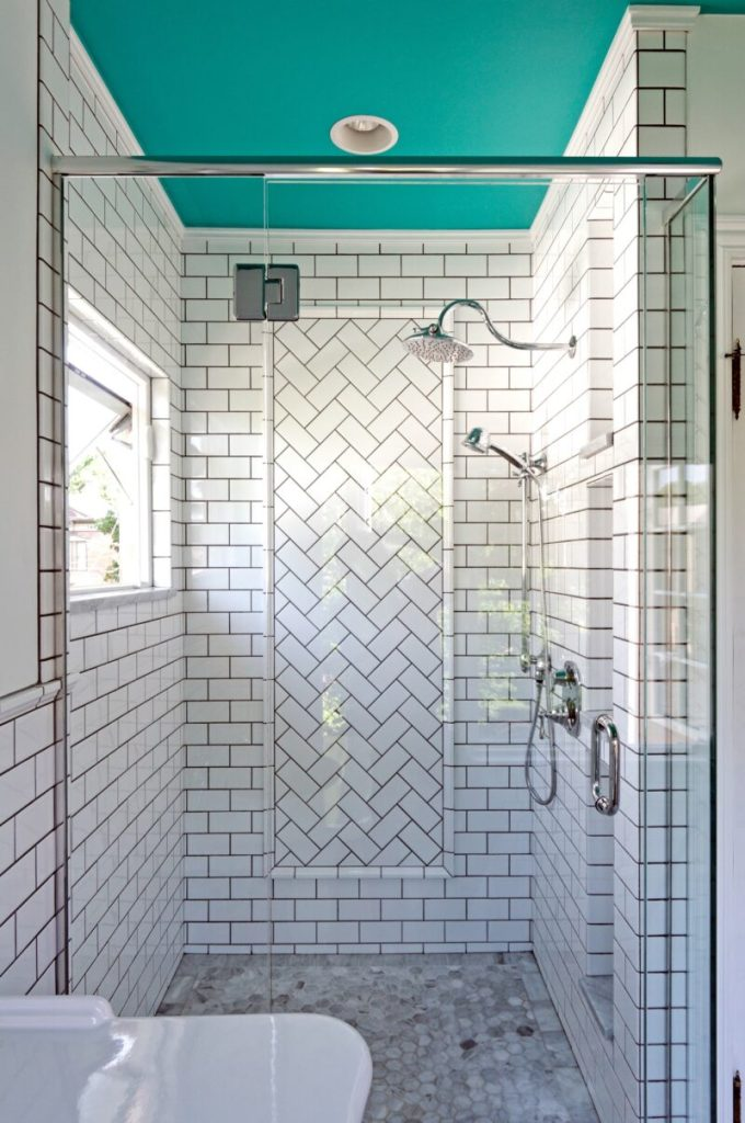 Ceiling paint for shower