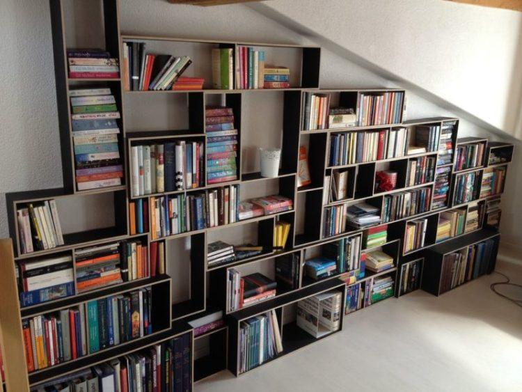 Black Bookshelf