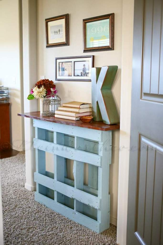 Entry Table Reclaimed Wood