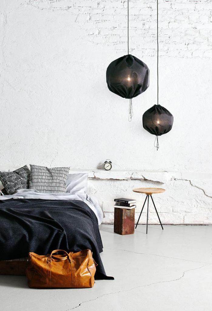 Dramatic Bedroom