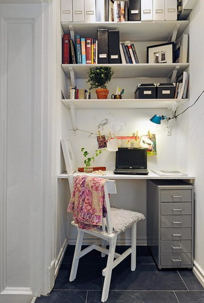 Small Niche Office home office ideas